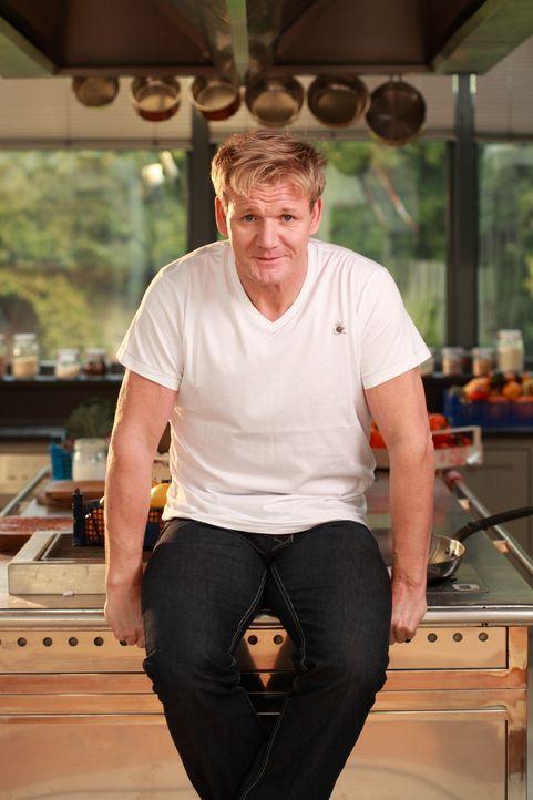 Der international gefeierte Sternekoch Gordon Ramsay kocht auf unverwechselbar dynamische Weise alles, was das Herz begehrt! - Bildquelle: Fox Broadcasting. All rights reserved.