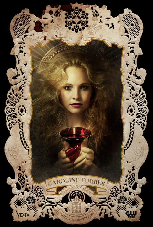 Candice Accola ist Caroline Forbes - Bildquelle: Warner Bros Entertainment Inc.