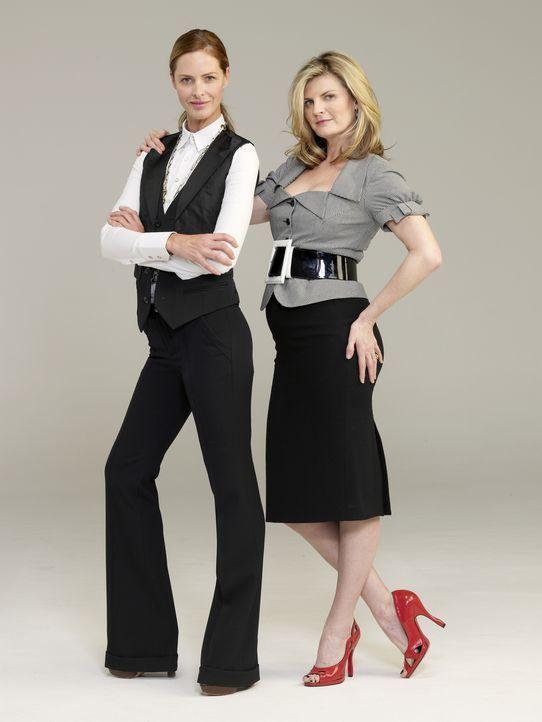 (1. Staffel) - Haben eine Mission in Holland: Trinny (l.) und Susannah (r.) ... - Bildquelle: XYZ Networks