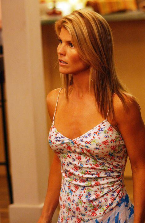 Als Johnny Ava (Lori Loughlin) mit Nikkis Schuldirektor Dr. O?Keefe zusammen sieht, merkt er, wie stark seine Gefühle noch für sie sind ... - Bildquelle: CBS Television