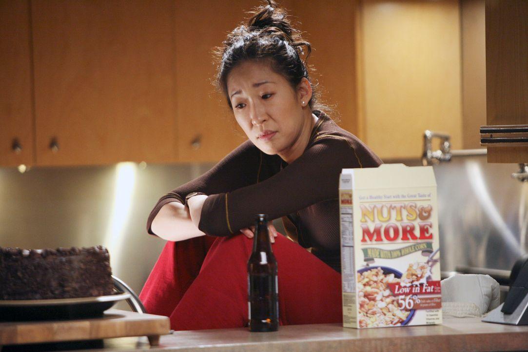 Wird Cristina (Sandra Oh) den Schritt gehen, und sich bei Burke entschuldigen? - Bildquelle: Touchstone Television