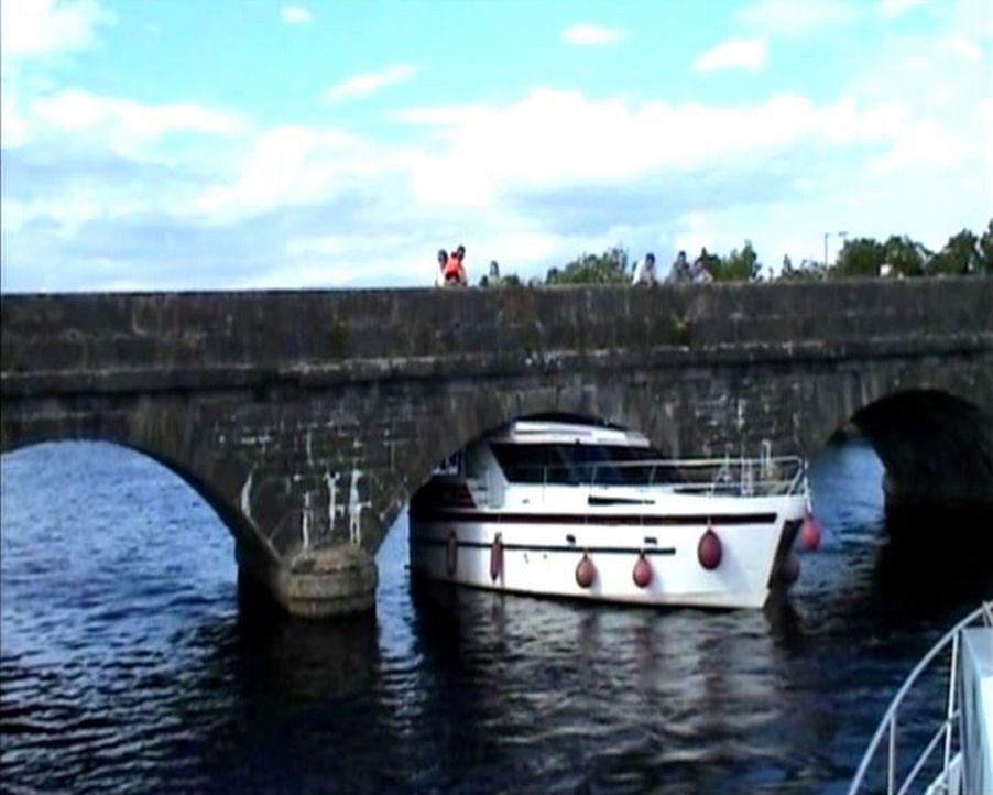 Eine Seefahrt, die ist lustig, doch diese Seefahrt ist nicht schön: Als der Ire River Shannon mit seinem Boot auf Jungfernfahrt geht, unterschätzt e... - Bildquelle: 2010, The Travel Channel, L.L.C.
