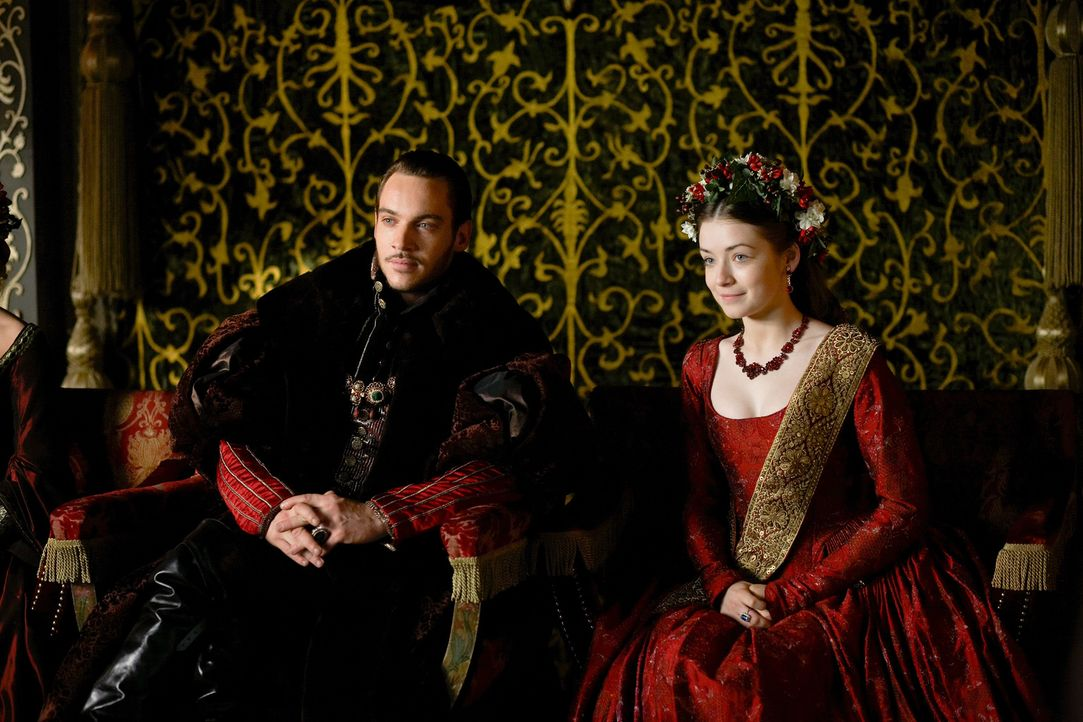 Während ein politischer und religiöser Machtkampf zwischen Katholiken und Reformatoren tobt, bringt der König seine Familie wieder zusammen: Henry (... - Bildquelle: 2009 TM Productions Limited/PA Tudors Inc. An Ireland-Canada Co-Production. All Rights Reserved.