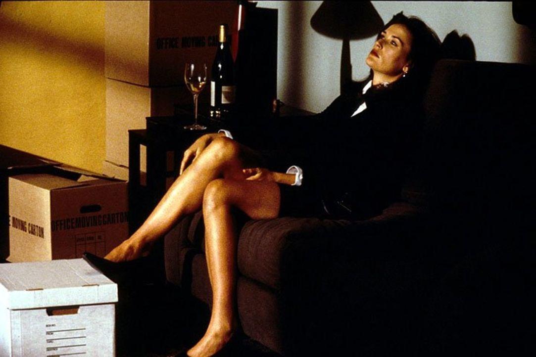 Die Geschäftsfrau Meredith Johnson (Demi Moore) verfolgt ihre Ziele ohne Rücksicht auf Verluste. Wird sie damit durchkommen? - Bildquelle: 1994 Warner Bros.
