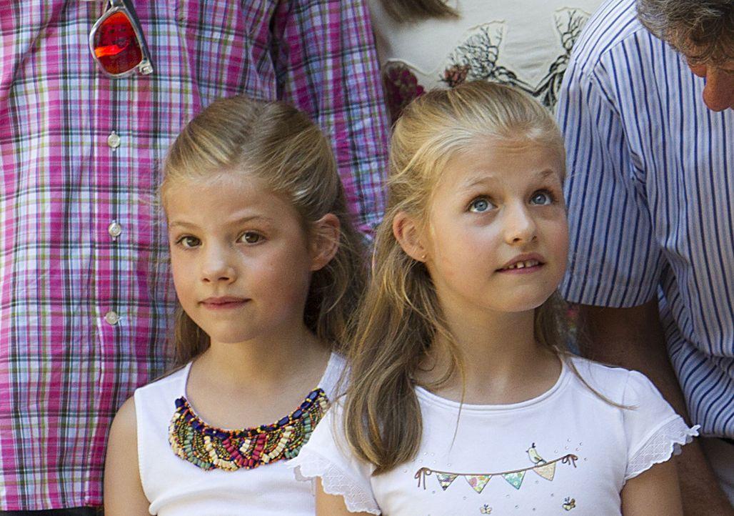 Leonor und Sofía  - Bildquelle: AFP