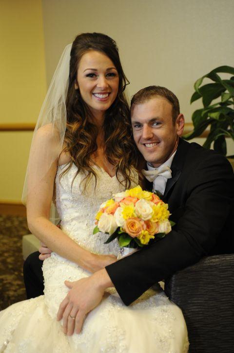 Wird das Hochzeitsfoto von Jamie (l.) und Doug (r.) jemals ein glückliches Ehepaar zeigen? - Bildquelle: A+E Networks