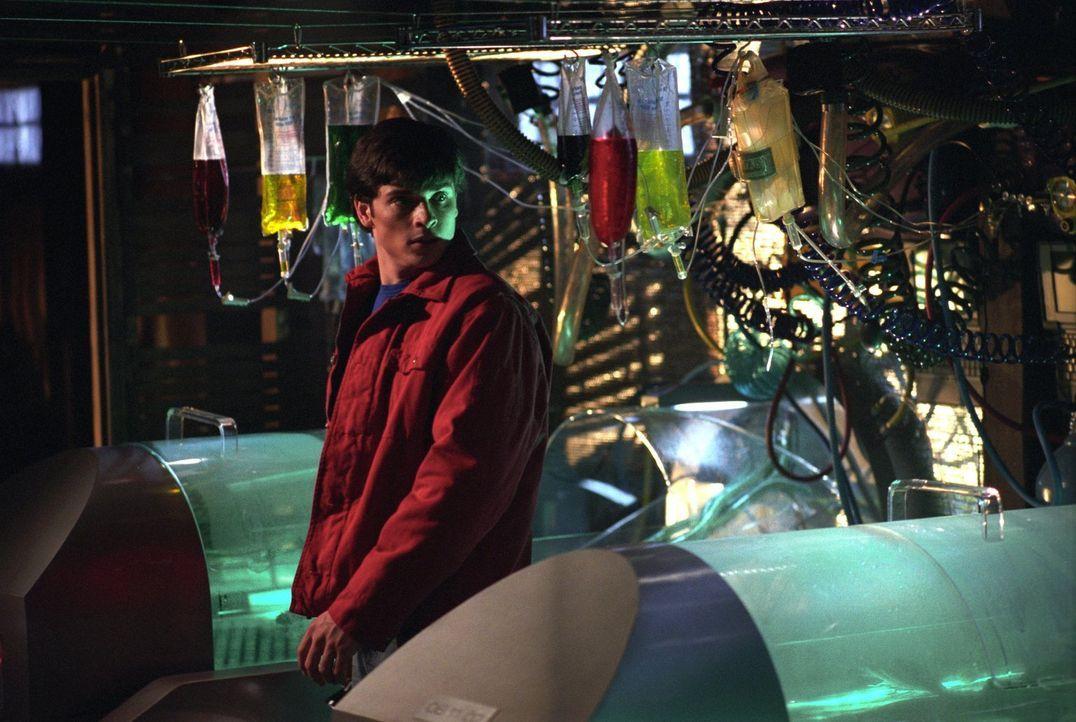 Geist oder Klon? Clark (Tom Welling) macht sich auf die Suche nach Emilys Vater, der Gentechniker ist ... - Bildquelle: Warner Bros.
