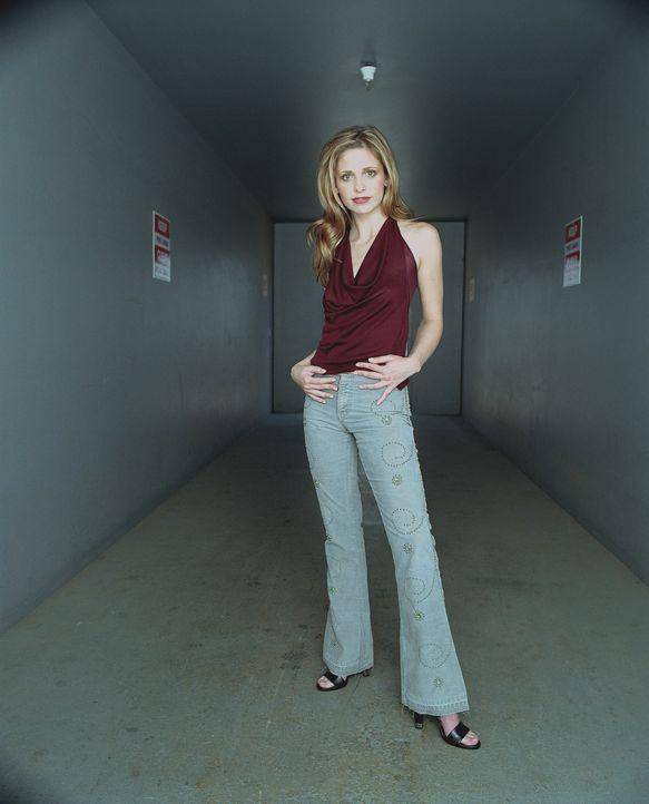 (7. Staffel) - Sie ist die Jägerin. Sie ist außergewöhnlich stark, ihre Sinne besonders scharf und sie hat manchmal prophetische Träume: Buffy (Sara... - Bildquelle: TM +   Twentieth Century Fox Film Corporation. All Rights Reserved.