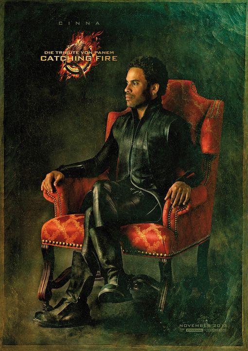 Lenny Kravitz als Cinna in Catching Fire - Bildquelle: Studiocanal