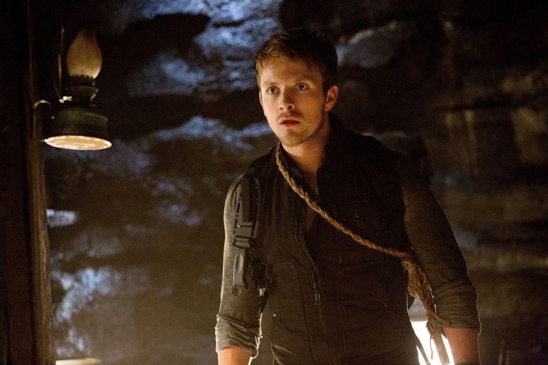 Noch ahnt der Vampirjäger Vaughn (Charlie Bewley) nicht, auf wie viele Vampire er noch treffen wird ... - Bildquelle: Warner Brothers