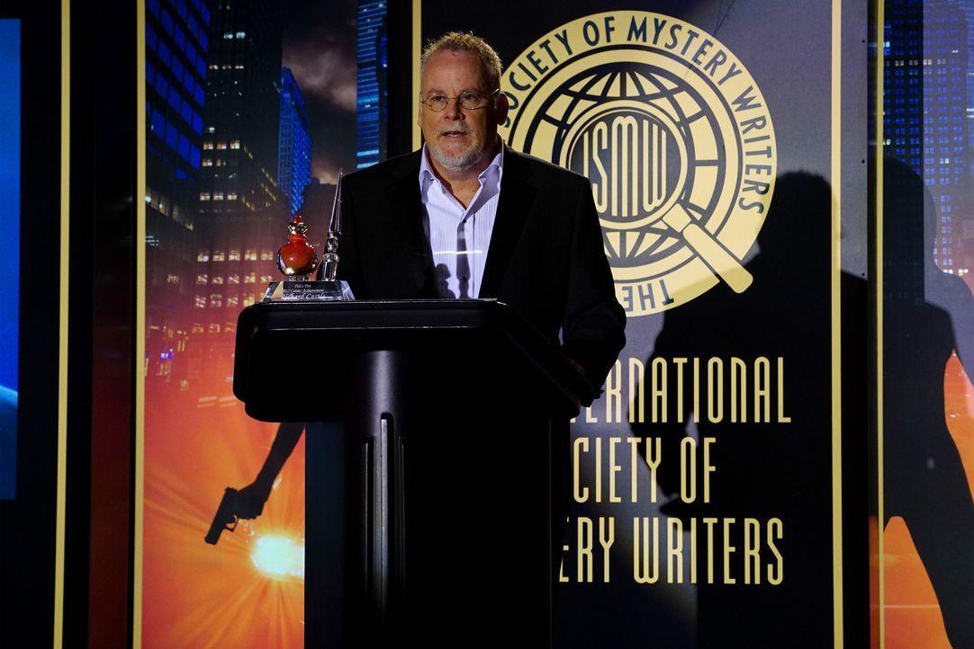 Der legendäre Schriftsteller Michael Connelly (Michael Connelly) soll Castle den begehrten Literaturpreis verleihen ... - Bildquelle: Richard Cartwright ABC Studios / Richard Cartwright