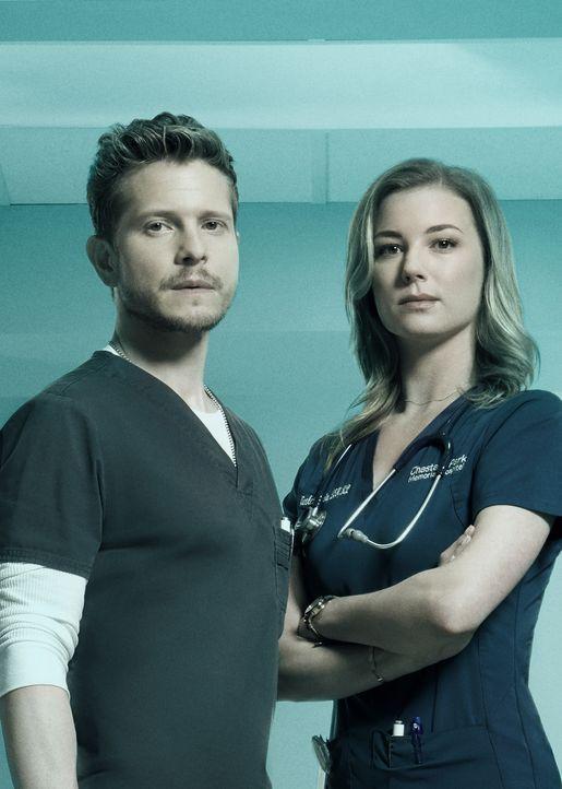 (3. Staffel) - Dr. Conrad Hawkins (Matt Czuchry, l.); Nicolette Nevin (Emily VanCamp, r.) - Bildquelle: 2019-2020 Twentieth Century Fox Film Corporation.  All rights reserved.