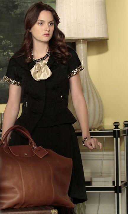 Will unbedingt ein Praktikum bei Indra Nooyi, einer der mächtigsten Geschäftsfrauen der Welt, absolvieren: Blair (Leighton Meester) ... - Bildquelle: Warner Bros. Television