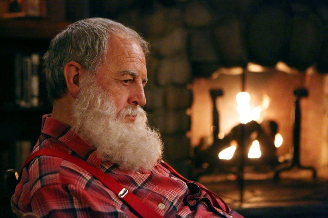 """Wird von vier gefräßigen Eindringlingen überrascht: Der einsame """"Weihnachtsmann"""" (Paul Dooley) ... - Bildquelle: Warner Brothers"""