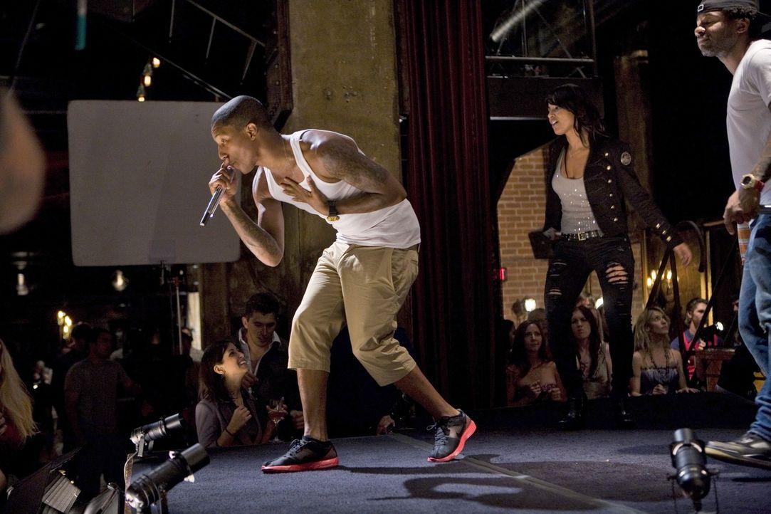 Die Hip-Hop-Band N.E.R.D.mischt die Menge so richtig auf! - Bildquelle: TM &   CBS Studios Inc. All Rights Reserved