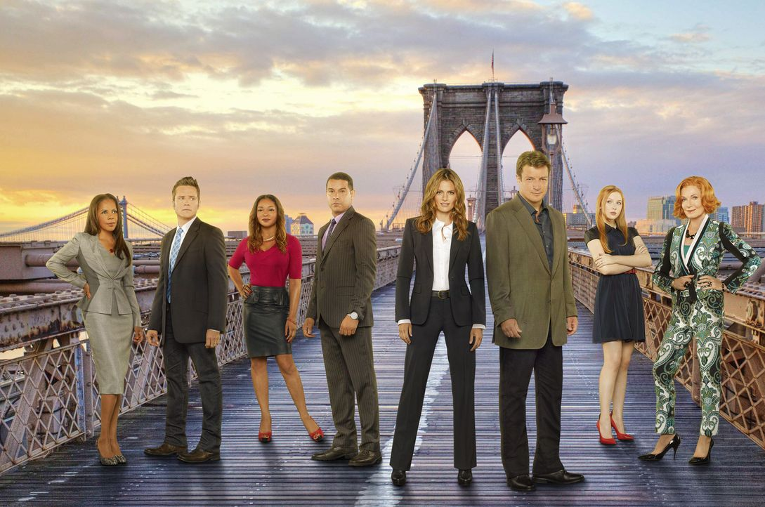(6. Staffel) - Viele spannende Fälle warten auf (v.l.n.r.) Victoria Gates (Penny Johnson), Kevin Ryan (Seamus Dever), Lanie Parish (Tamala Jones), J... - Bildquelle: 2013 American Broadcasting Companies, Inc. All rights reserved.