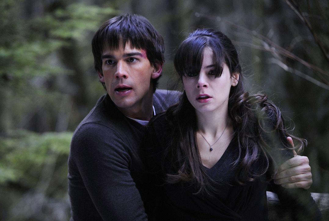 Die Panik greift weiter um sich: Abby (Elaine Cassidy, r.) und Henry (Christopher Gorham, l.) ... - Bildquelle: 2009 CBS Studios Inc. All Rights Reserved.