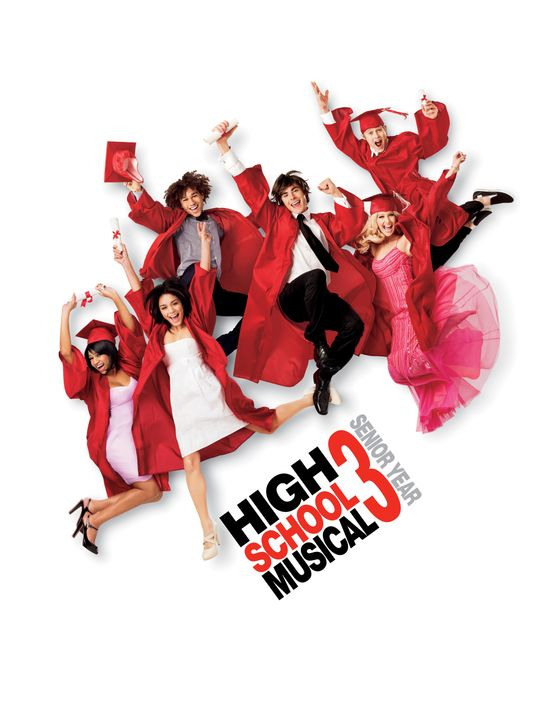 High School Musical 3: Senior Year - Plakatmotiv - Bildquelle: Disney Enterprises, Inc.  All rights reserved.