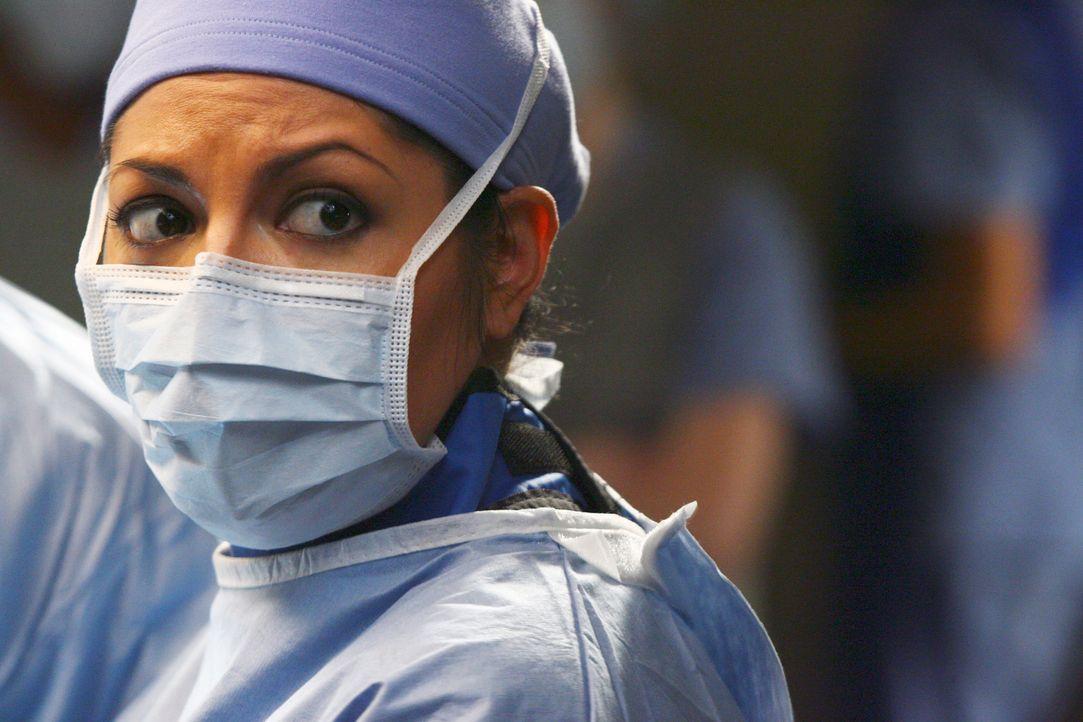Steht vor einer schwierigen OP: Addison (Kate Walsh) ... - Bildquelle: Touchstone Television