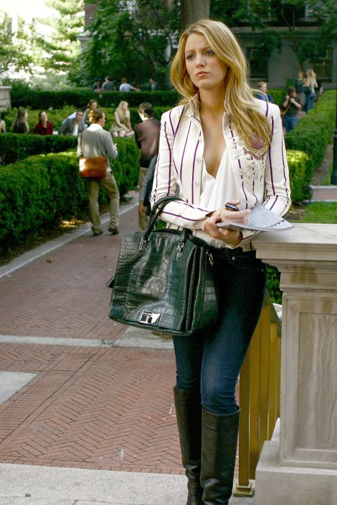 Lässt sich von Blair provozieren und fährt deshalb auch nach Yale: Serena (Blake Lively) ... - Bildquelle: Warner Brothers