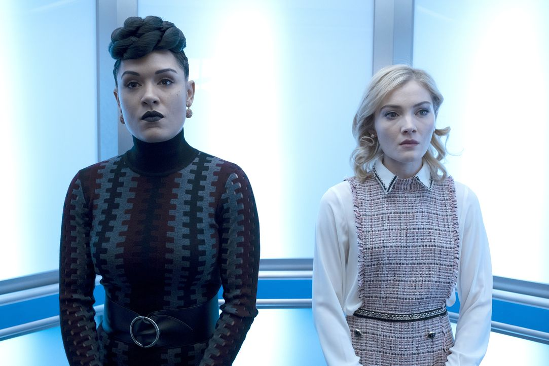 Reeva Payge (Grace Byers, l.); Esme Frost (Skyler Samuels, r.) - Bildquelle: Steve Dietl 2019 Fox and its related entities.  All rights reserved.  MARVEL TM &   2017 MARVEL