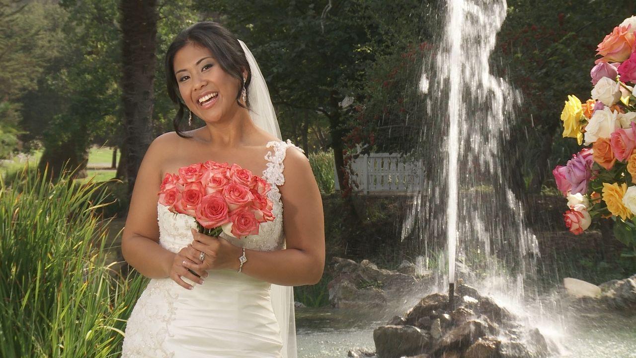 Auch Amber möchte die perfekte Hochzeit feiern und die traumhafte Hochzeitsreise gewinnen - Bildquelle: Richard Vagg DCL