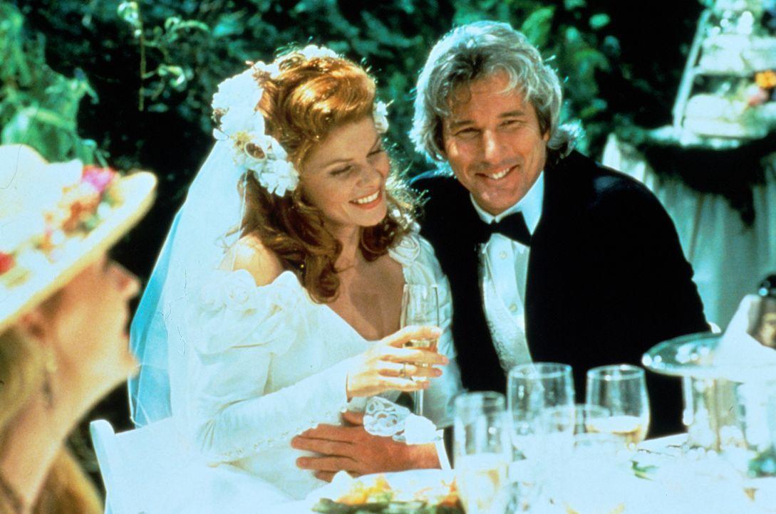 In seinen Träumen geht Vincent Eastman (Richard Gere, r.) aufs Ganze: Nur in der Ehe mit Olivia (Lolita Davidovich, 2.v.l.) kann er die Erfüllung fi... - Bildquelle: Paramount Pictures