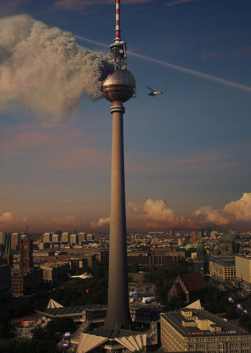 Das Inferno - Flammen über Berlin - Artwork - Bildquelle: scanline ProSieben