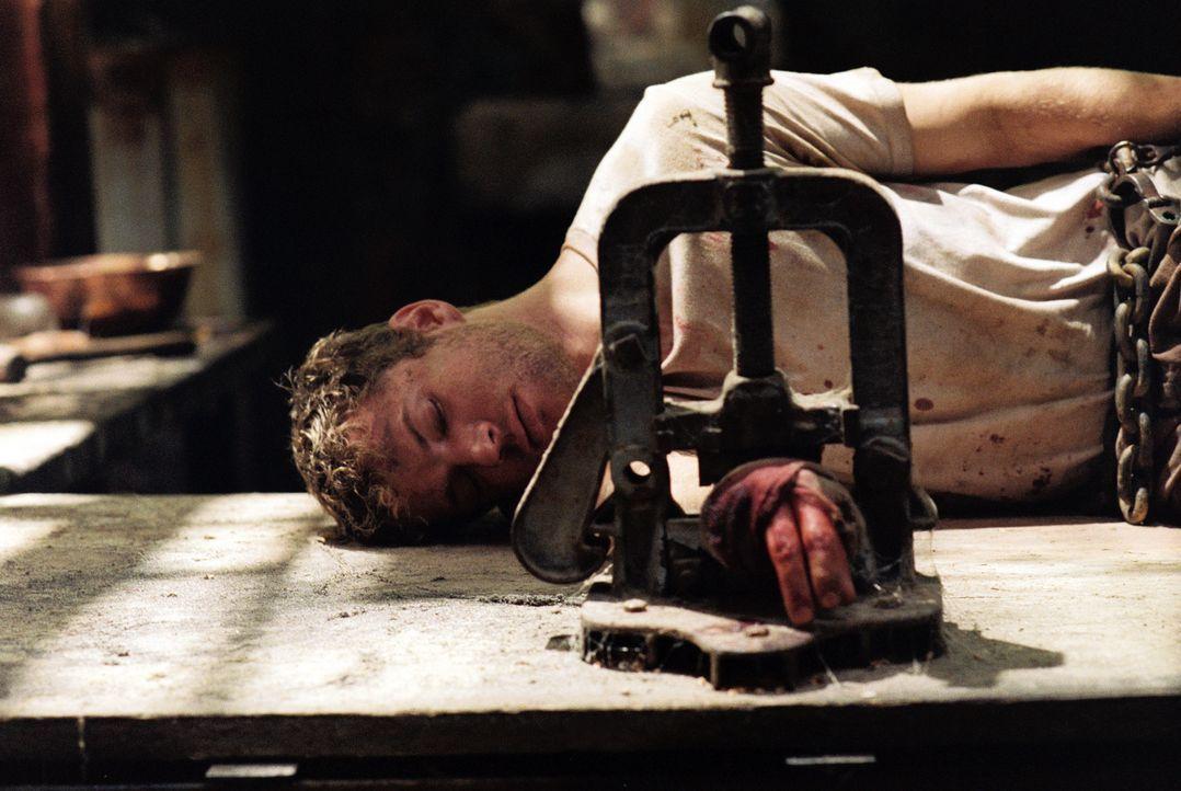 In Marokko werden Gavin und Martijn (Ryan Phillippe) von islamischen Terroristen entführt. Während Gavin gleich erschossen wird, verlangt Anführe... - Bildquelle: Lions Gate Films