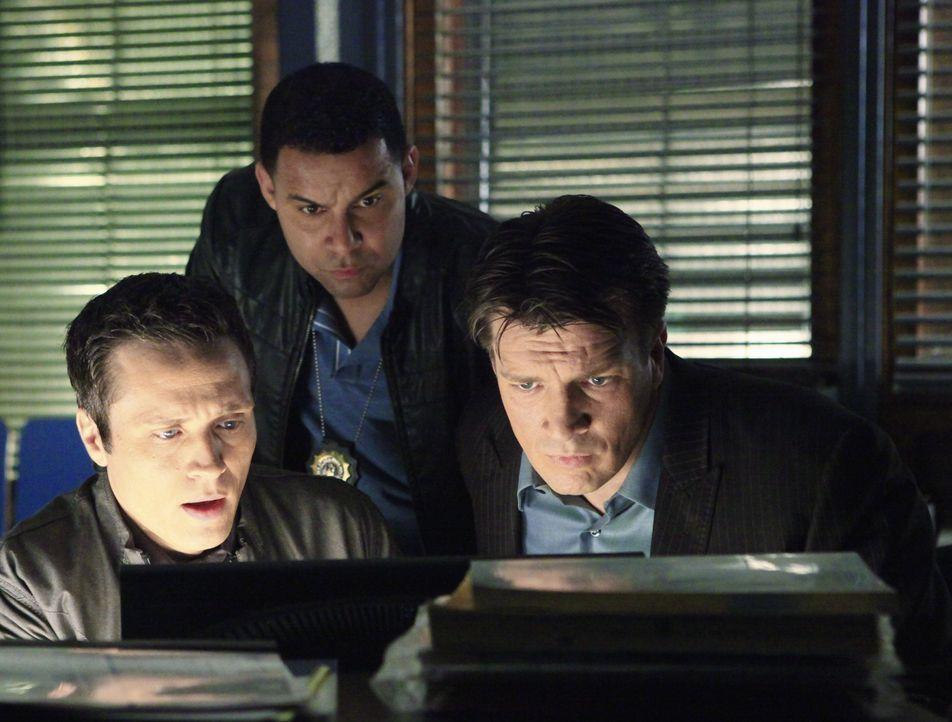 Ein corrupter Cop scheint sich in den eigenen Reihen zu befinden. Kevin Ryan (Seamus Dever, l.), Javier Esposito (Jon Huertas, M.) und Richard Castl... - Bildquelle: ABC Studios