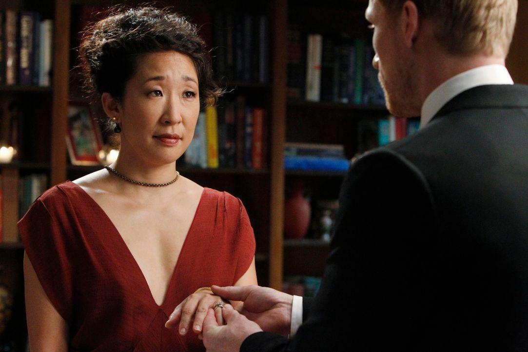 Der schönste Tag ihres Lebens? Owen (Kevin McKidd, r.) und Cristina (Sandra Oh, l.) ... - Bildquelle: ABC Studios