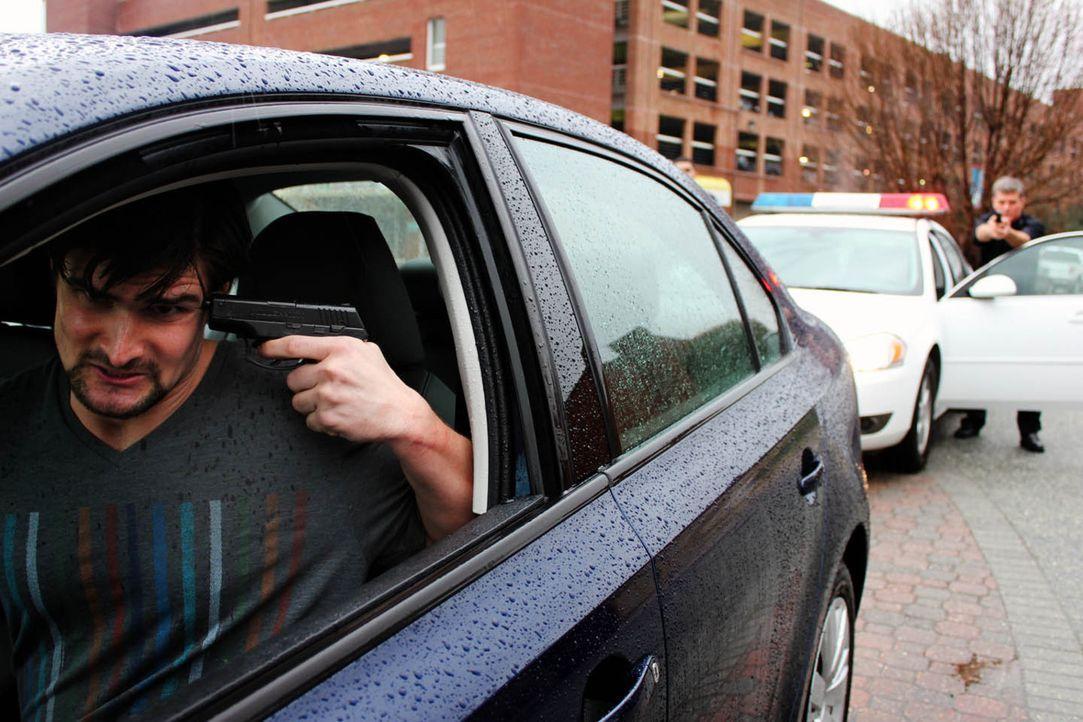 Wird sich Jeremiah Rodgers tatsächlich selber töten bevor die Polizei ihn schnappen kann? - Bildquelle: M2 Pictures