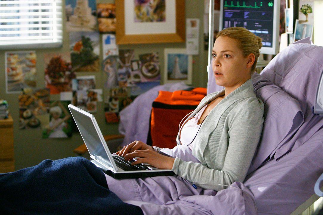 Ist überrascht, als plötzlich ihre Mutter vor ihr steht: Izzie (Katherine Heigl) .... - Bildquelle: Touchstone Television