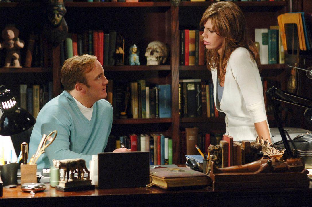 Rick Paynes (Jay Mohr, l.) alte Freundin Nina Haley (Nikki Cox, r.) taucht scheinbar zufällig wieder auf ... - Bildquelle: ABC Studios