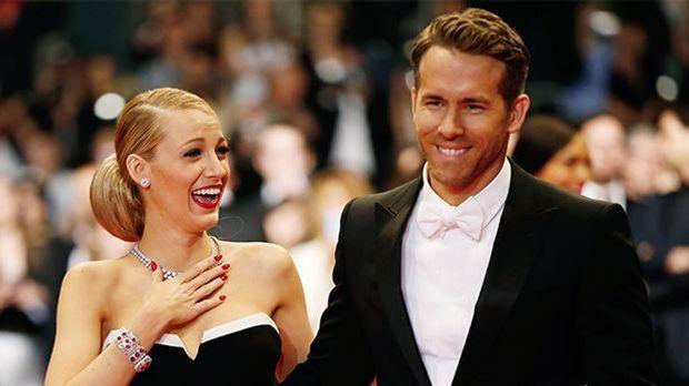Blake Lively und Ryan Raynold sind glücklich verliebt