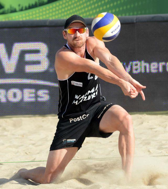 Wer sind die besten Beachvolleyballer des Kontinents? Bei der EM in Klagenfurt kämpfen jeweils 32 Männer- und Frauen-Teams um den Titel. (Bild: Ka... - Bildquelle: FIVB