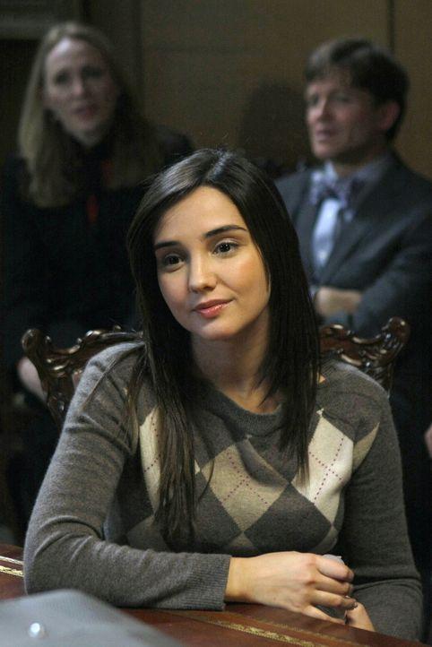 Blair denkt sich einen Plan aus, um seine Lehrerin Miss Carr (Laura Breckenridge) zu Fall zu bringen, während Chuck ohne Erinnerungen an die vergang... - Bildquelle: Warner Brothers