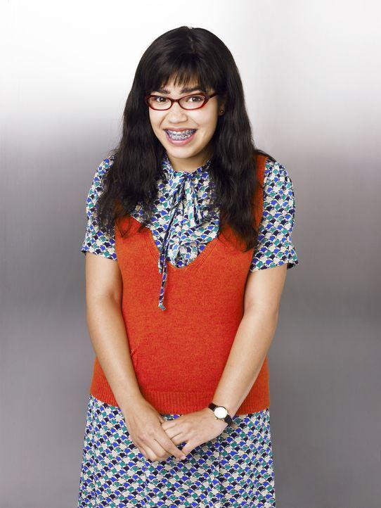 (1. Staffel) - Mauerblümchen Betty Suarez (America Ferrera) bekommt einen Job als Assistentin bei einer Modezeitschrift, damit Chefredakteur Daniel... - Bildquelle: Buena Vista International Television