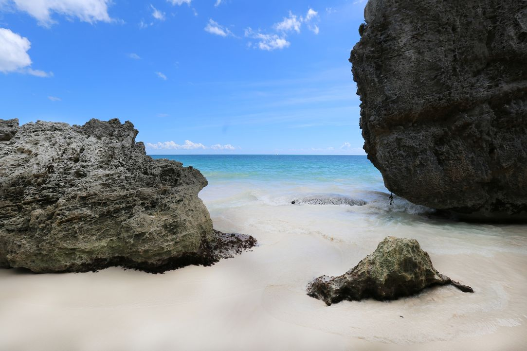 Schon lange kein Geheimtipp mehr: Tulum mit seinen Maya-Ruinen am türkisblauen Karibikstrand ... - Bildquelle: 2016,The Travel Channel, L.L.C. All Rights Reserved.