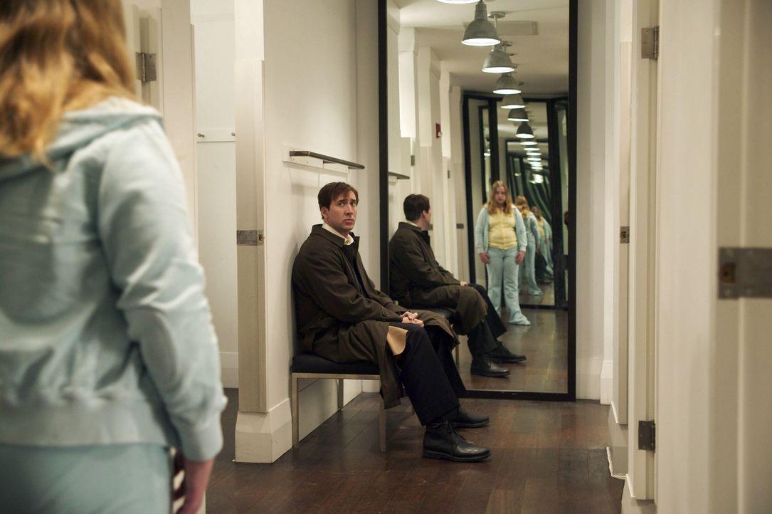 Dave Spritz (Nicolas Cage, r.) hat einen Haufen Probleme - und eine übergewichtige Tochter (Gemmenne de la Peña, l.), die ihn nicht mag ... - Bildquelle: 2004 by PARAMOUNT PICTURES. All Rights Reserved.