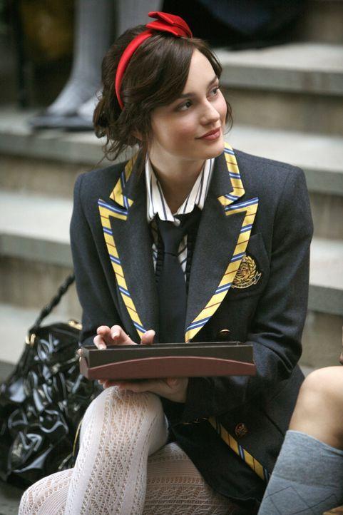 Obwohl Blair (Leighton Meeser) häufig auf ihre Freundin eifersüchtig ist, scheint sie sich diesmal wirklich über deren neues Liebesglück zu freuen .... - Bildquelle: Warner Brothers