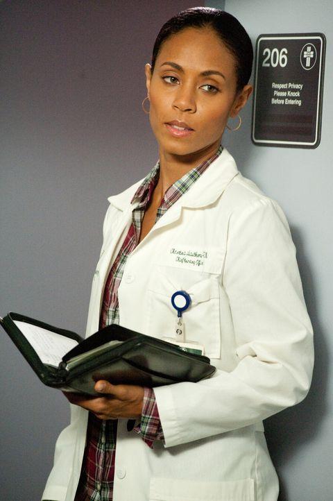 Christina (Jada Pinkett Smith) kommt erst gar nicht dazu, ihren Feierabend zu genießen - sie muss für eine kranke Kollegin einspringen und deren N... - Bildquelle: Sony 2009 CPT Holdings, Inc. All Rights Reserved