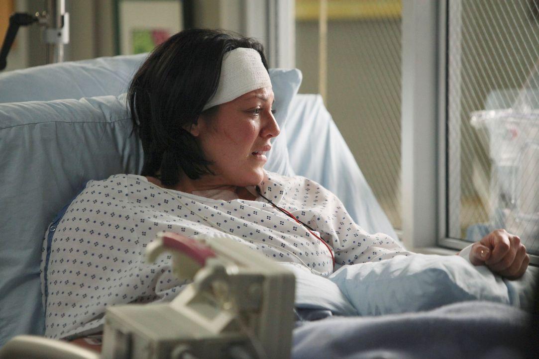 Eine Woche ist seit Callies (Sara Ramirez) Unfall vergangen. Ihre kleine Tochter trägt den Namen Sofia Robbin Sloan Torres und wiegt knapp ein halbe... - Bildquelle: ABC Studios