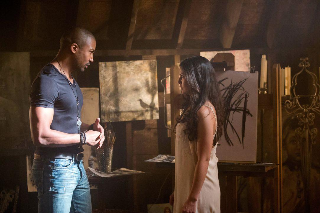 Marcel (Charles Michael Davis) und Davina (Danielle Campbell) - Bildquelle: Warner Bros. Entertainment Inc.