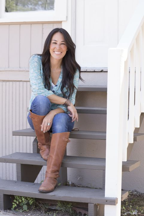 Für Joanna Gaines gibt es nicht schöneres, als wenn ihre harte Arbeit mit der Freude der Hausbesitzer belohnt wird ... - Bildquelle: Sarah Wilson 2014, HGTV/ Scripps Networks, LLC.  All Rights Reserved.