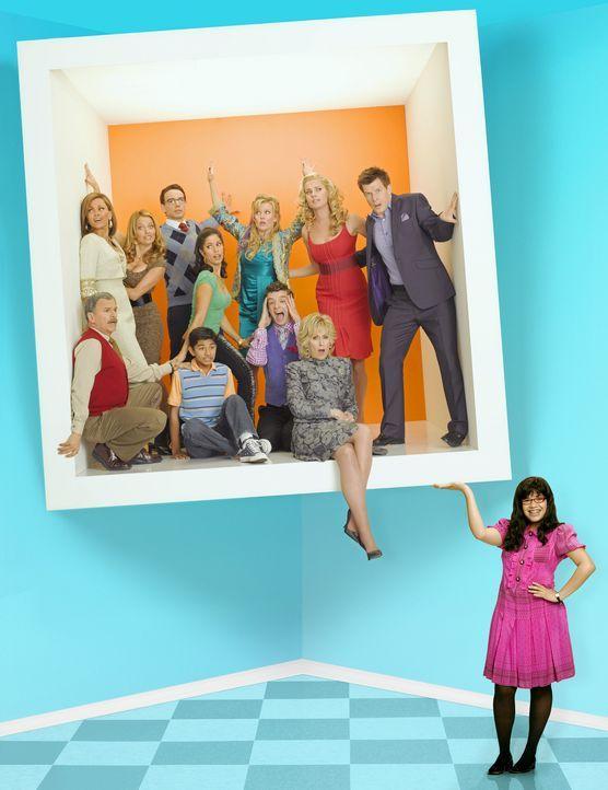 (2. Staffel) - Betty (America Ferrera, r.) muss immer wieder über ihren eigenen Schatten springen ... - Bildquelle: Buena Vista International Television