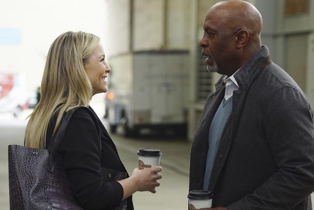 Arizona (Jessica Capshaw, l.) und Callie suchen sich unter ihren Freunden Verbündete für den drohenden Sorgerechtsstreit. Doch auf welcher Seite ste... - Bildquelle: Richard Cartwright ABC Studios
