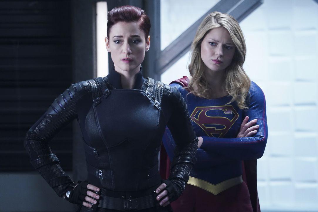 Alex (Chyler Leigh, l.); Kara alias Supergirl (Melissa Benoist, r.) - Bildquelle: Shane Harvey 2018 The CW Network, LLC. All Rights Reserved.