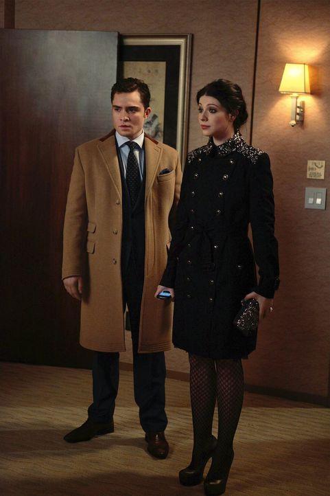 Nachdem Blair von ihrem eigenen Hochzeitsempfang geflohen ist, wittert Georgina (Michelle Trachtenberg, r.) einen Skandal und versucht Blairs Freund... - Bildquelle: Warner Bros. Television