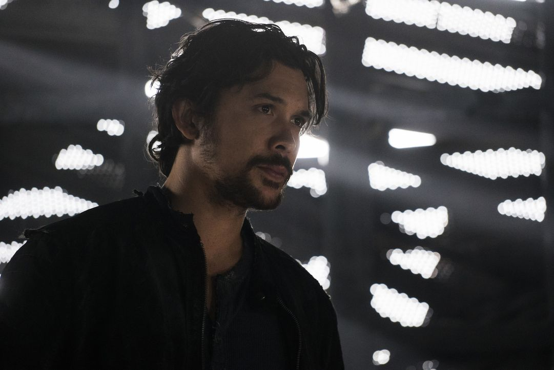 Bellamy (Bob Morley) - Bildquelle: Katie Yu 2018 The CW Network, LLC. All rights reserved/Katie Yu